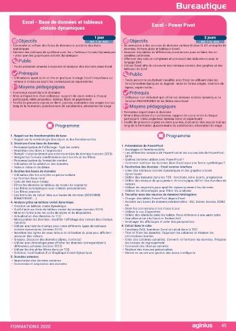 Page 47 Catalogue Aginius 2020